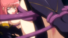 Babe tentacles penetrate Anime